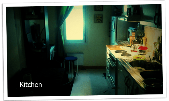 Our new kitchen.