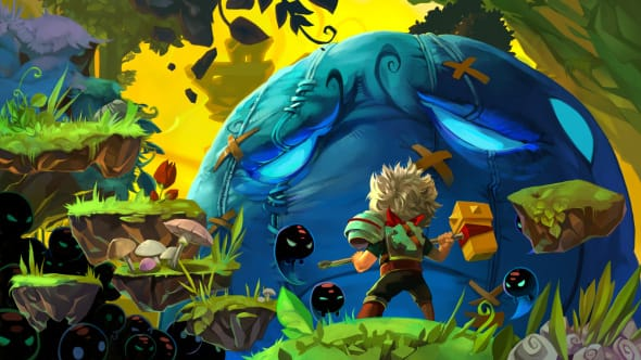 Promo picture from the game Bastion.