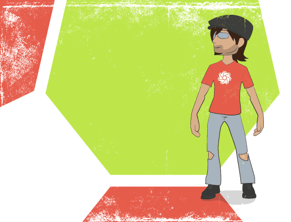 Carlos avatar in its original style.
