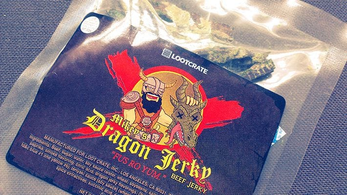 Mikey's Dragon Beef Jerky