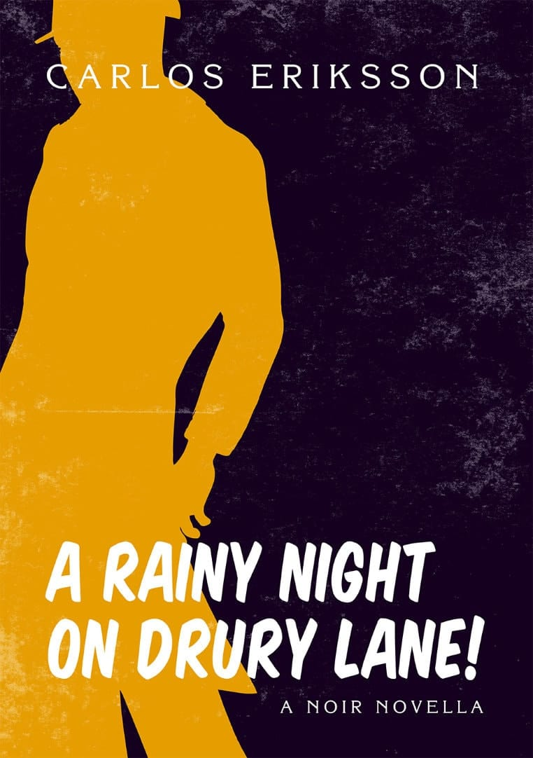 Book cover for A Rainy Night on Drury Lane.